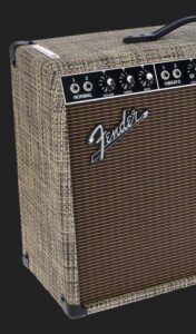 FENDER 65 DELUXE LTD CHILEWICH BARK