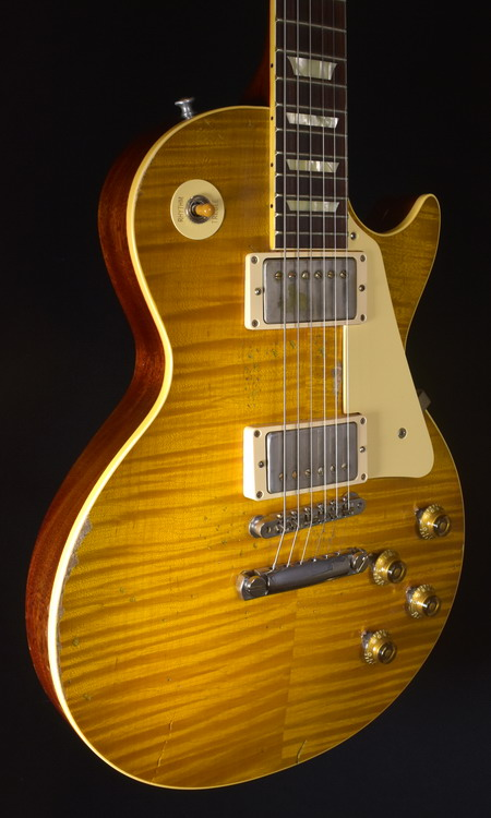 GIBSON ACE FREHLEY 1959 LES PAUL AGED & SIGNED