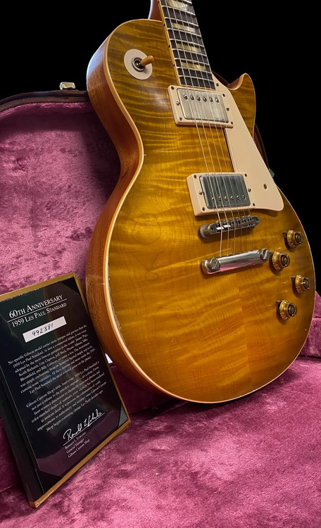 GIBSON LES PAUL 59 60th ANNIVERSARY FULL HISTORIC MAKEOVER
