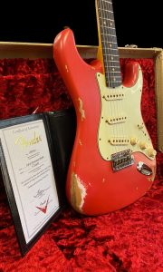 C.SHOP 63 HEAVY RELIC STRAT 2021 LIMITED EDITION